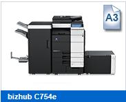 Geschwindigkeit: Bis zu 75/60 A4-Seiten oder 37/30 A3-Seiten in SW/Farbe pro Minute