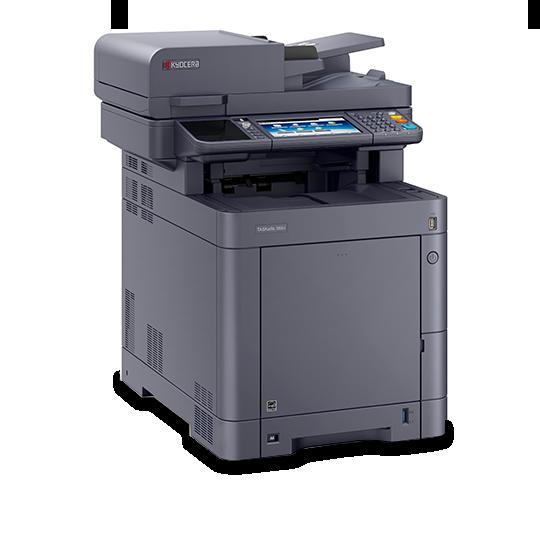 Farb MFP A4 Druckgeschwindigkeit: bis zu 35 Seiten/Min.